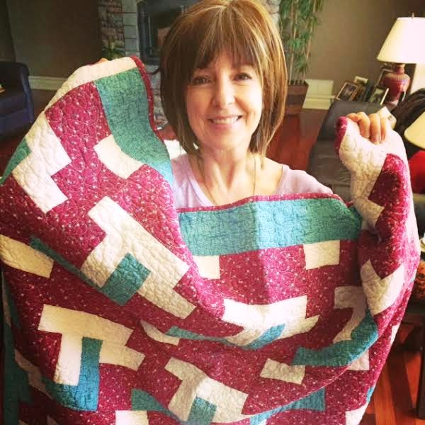 Liz Dunkley, one of our 2014 quilt recipients